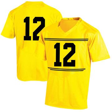 Men's Tarheeb Still Maryland Terrapins Game Gold Football College Jersey