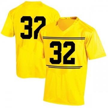 Youth Antonio Dicerbo Maryland Terrapins Game Gold Football College Jersey